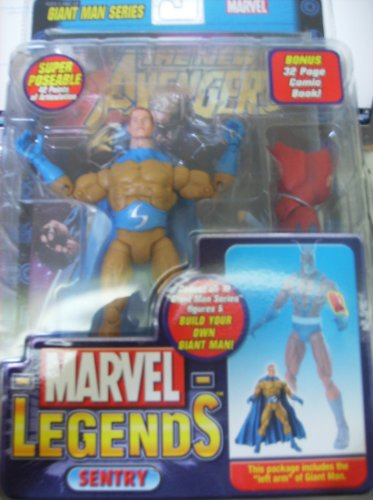 Marvel Legends Giant Man Series Sentry Dark Mustard Variant by Toy Biz