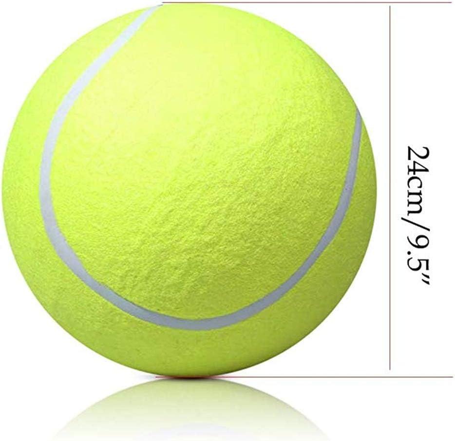 Haodou 1/Balles de Tennis Grande /élasticit/é Balle de Tennis Professionnelle Balles pour Animal Domestique Chien Chat Jaune