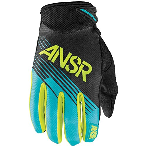 (Answer Racing Syncron Men's MotoX Motorcycle Gloves - Teal/Green / 2X-Large)