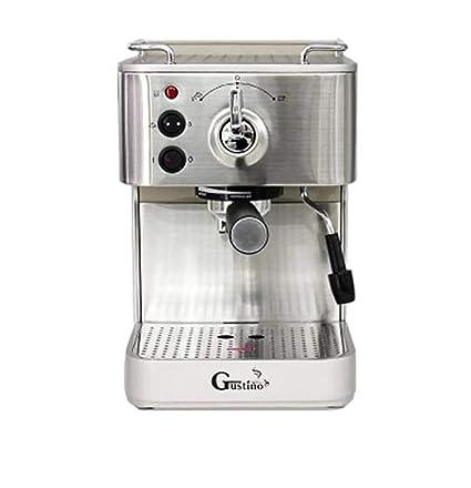 LXYIUN Máquina de café Espresso Estilo Italiano, máquina de café semiautomática de Frijol a Taza