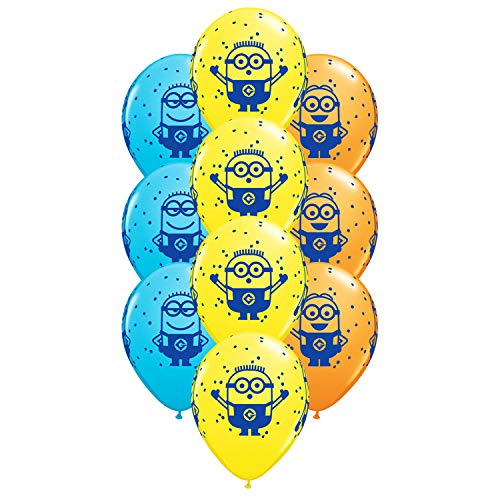 Set of 10 Assorted Despicable Me Minions 11