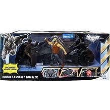 Mattel Batman Dark Knight Exclusive Action Figure Vehicle Combat Assault Tumbler with Batman & Bane