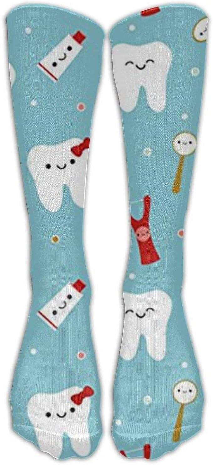 Tela dental Happy Teeth & Friends Rodilla Calcetines de ...