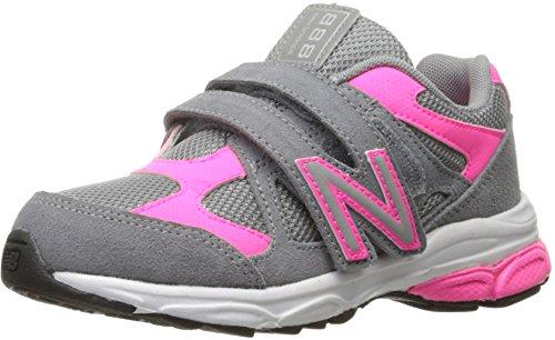 New Balance KV888V1 Infant Running Shoe (Infant/Toddler) Grey/Pink
