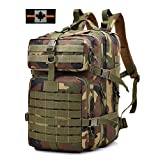 Tactical Backpack Military Waterproof Nylon Large Capacity Assault Pack for Hunting Cycling Climbing