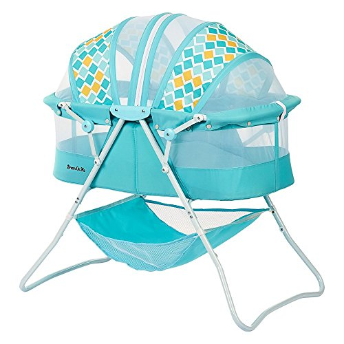 Cheapest Price! Dream On Me Karley Bassinet, Aqua Blue