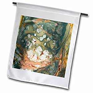 Danita Delimont - Abstracts - Oregon, Owyhee River Valley. Morrisonite Jasper - US38 BJA0724 - Jaynes Gallery - 12 x 18 inch Garden Flag (fl_93702_1)