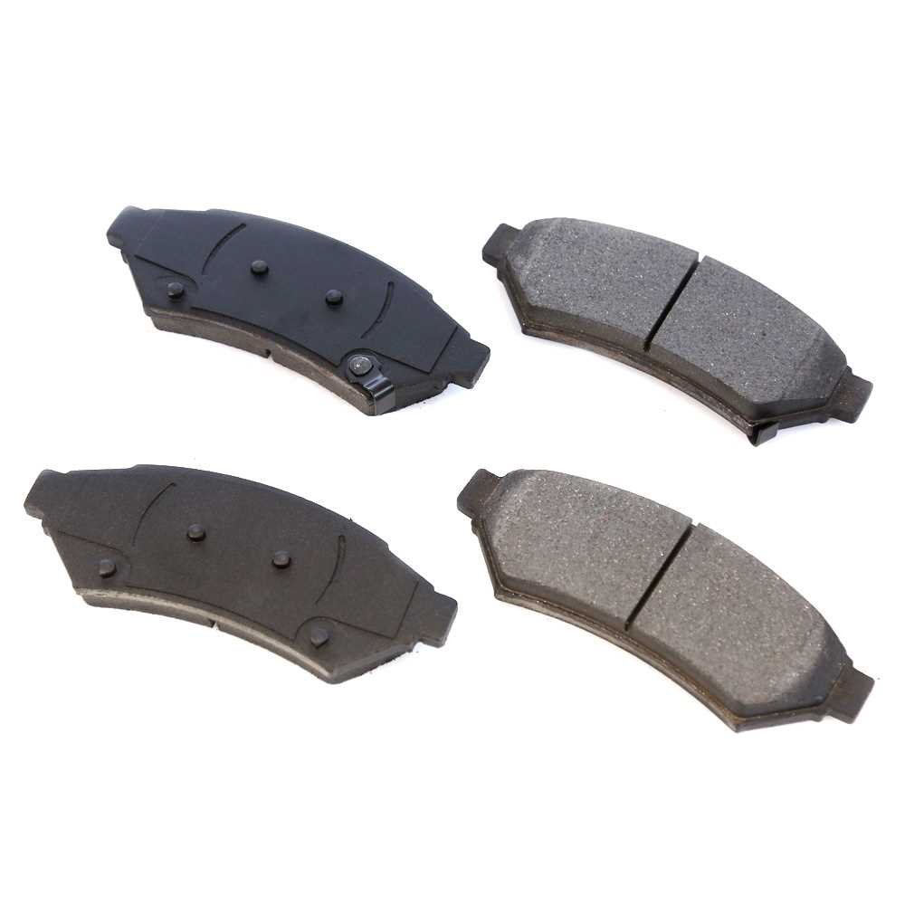 Prime Choice Auto Parts SCD1075 Front Ceramic Brake Pad Set