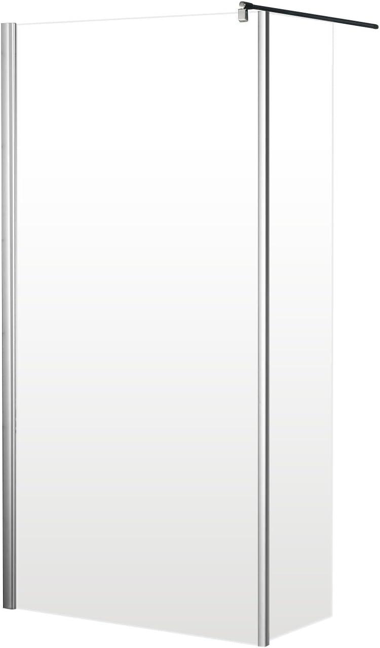 Schulte 4060991014581 mampara de ducha, transparente, 100 x 30 x ...