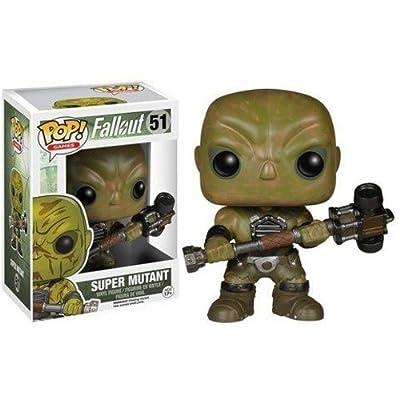 Funko 5852 POP Games: Fallout - Super Mutant: Funko Pop! Games:: Toys & Games