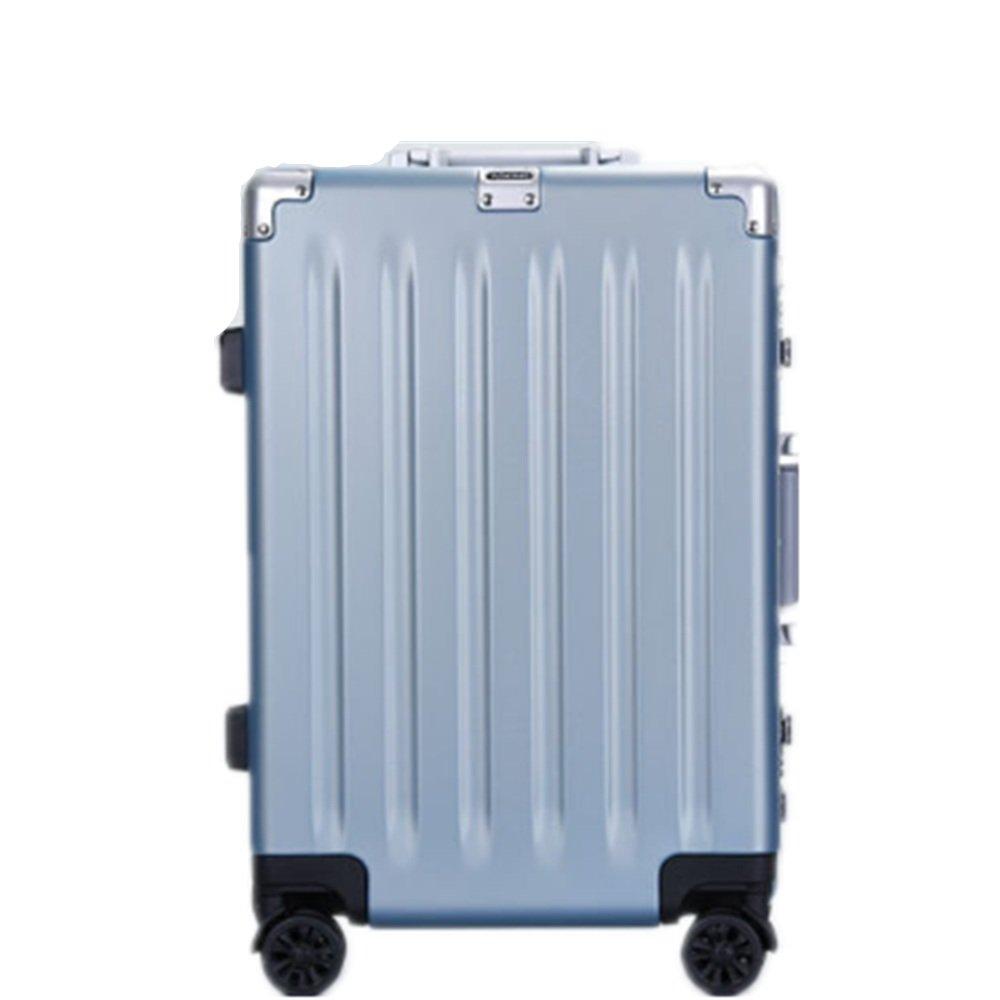 YHDD PCサンディングプルボックスユニバーサルホイール、アルミフレームスーツケース、耐摩耗性、耐水性、耐衝撃性、通気性、ビジネス、旅行、旅行用荷物スーツケース用   B07QHHC1N6