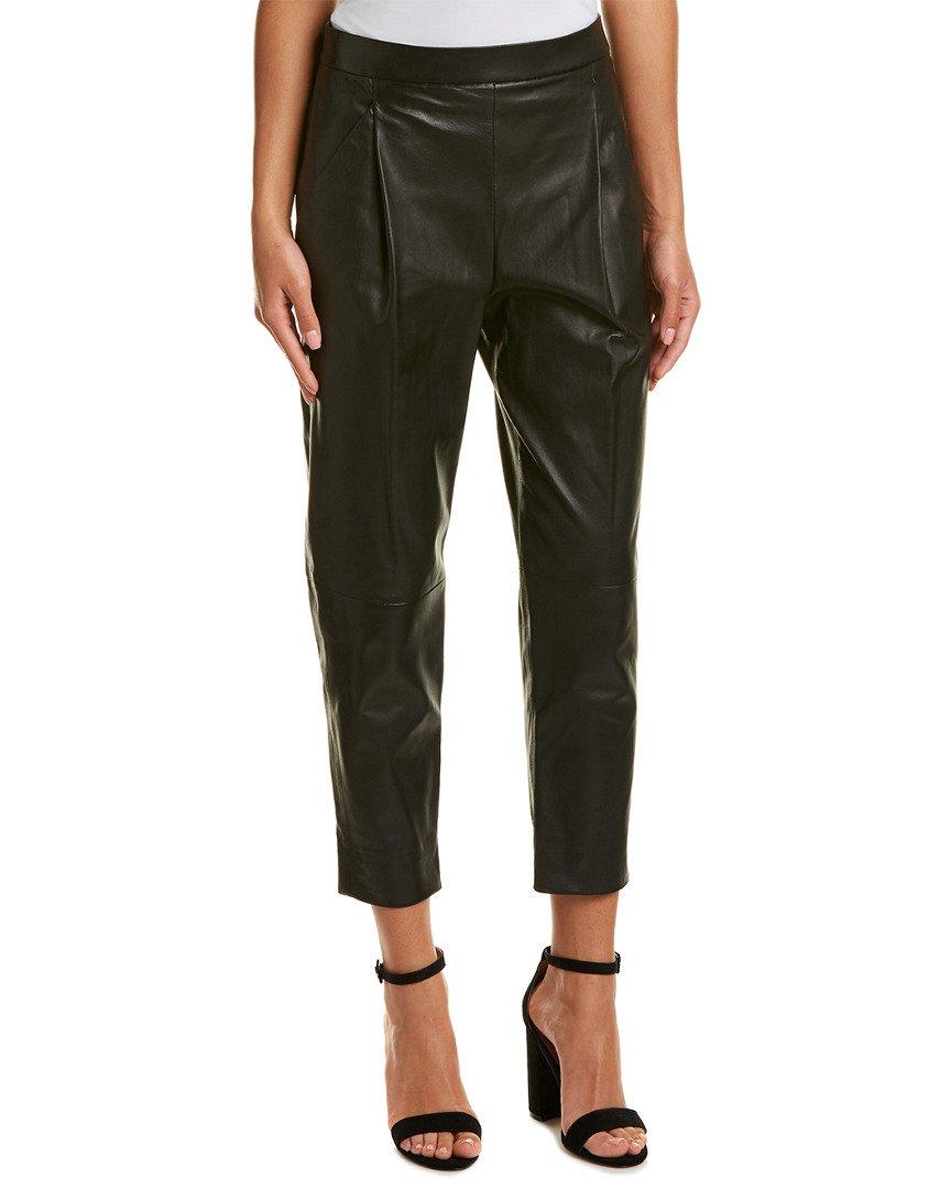 Vince Women's Leather Silk, Black, Medium