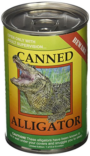 Canned Critters Stuffed Animal: Alligator 6