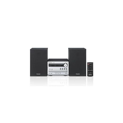 42 opinioni per Panasonic Stereo Micro SC-PM250- Sistema Hi-Fi, Argento