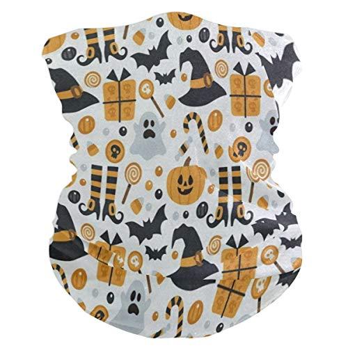Happy Halloween Pumpkin Headband Womens Bandana Mens Balaclava,Neck Warmer,Face Mask,Headwear ()