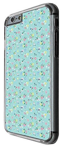1441 - Cool Fun Trendy cute shabby chic wallpaper flowers roses daisies tulip kwaii Design iphone 6 Plus / iphone 6 Plus S 5.5'' Coque Fashion Trend Case Coque Protection Cover plastique et métal - Cl