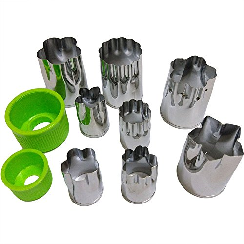 ScivoKaval Stainless Vegetable Cutters Shapes