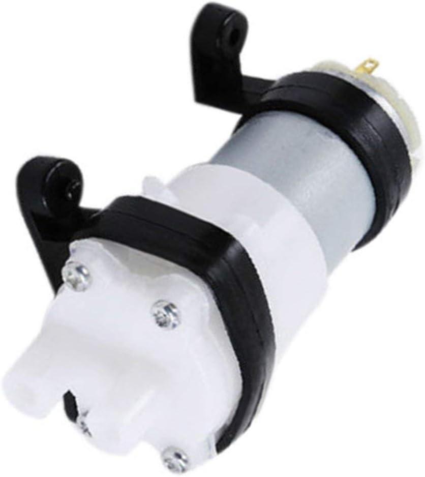 Zinniaya DC6-12V Pompe /à diaphragme Multifonction 385 Pompe /à Eau avec Support Moteur de Pompe daquarium pour Voiture Scrub Grain Oil Mini Pump