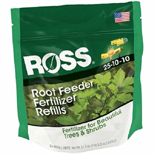 Ross 14666 36 Pack Tree & Shrub Fertilizer Root Feeder Refills - Quantity -