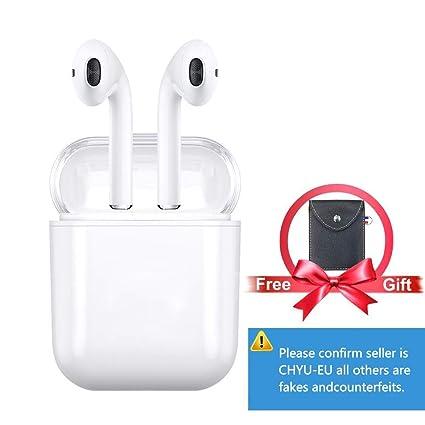 Auriculares Bluetooth Auriculares Inalámbricos Auriculares Deportivos Manos Libres Mini TWS con Caja de Carga 1500mAh para