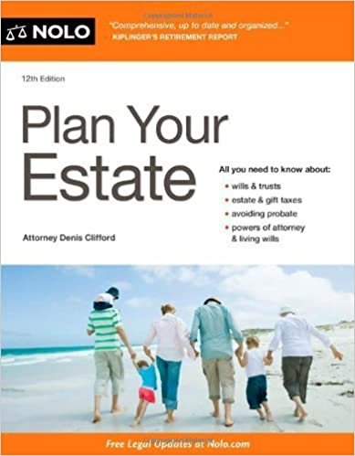 Plan Your Estate 12th edition by Clifford, Denis (2014)