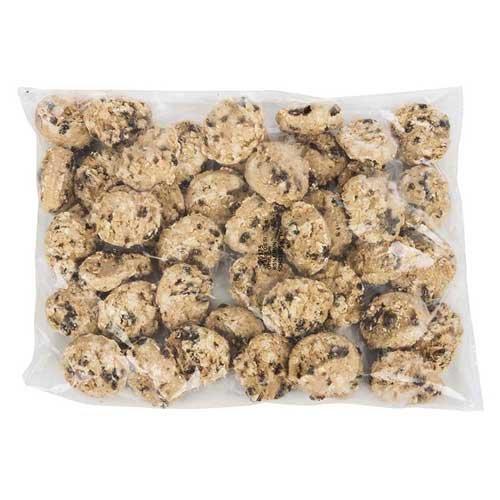 Otis Spunkmeyer Oatmeal Cinnamon Raisin Cookie Dough, 1.33 Ounce Bag -- 240 per (Oatmeal Raisin Cookie Dough)