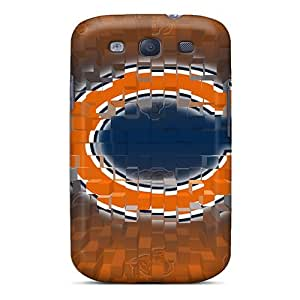 Elaney Galaxy S3 Well-designed Hard Case Cover Chicago Bears Protector
