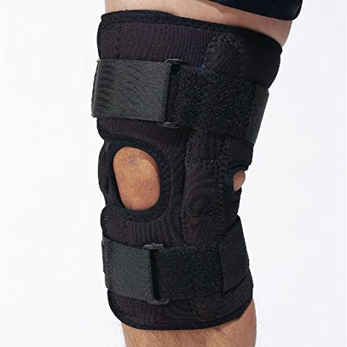 Physical Therapy Aids 081333087 D3 Hinged Knee Wrap, Large