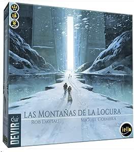 Devir Las MONTAÑAS DE LA Locura: Amazon.es: Juguetes y juegos