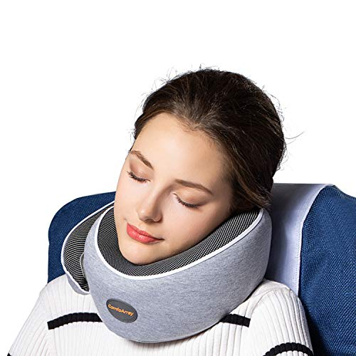 Best Airplane Pillow - ComfoArray Head Support Travel Pillow- More