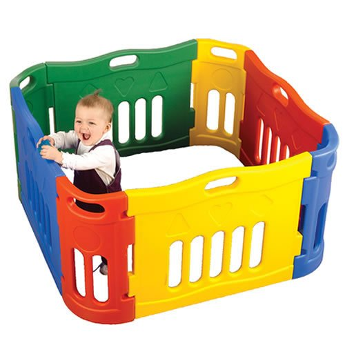 Versatile Play Pen - Small (8 Pieces) by None