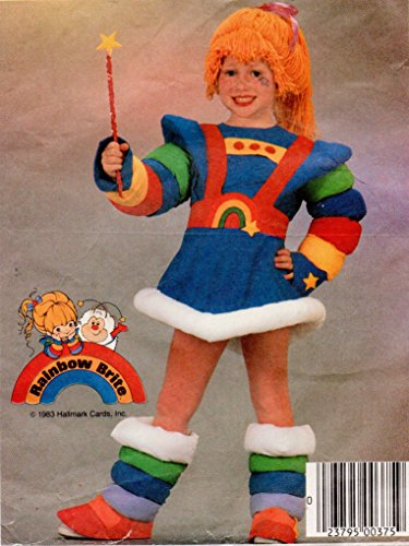 mccalls-9254-childs-rainbow-brite-costume-sewing-pattern-child-size-3-breast-22-vintage-1984