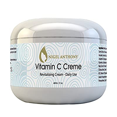 Nigel Anthony VITAMIN C CRÈME – Blemish Remover, Anti-Aging, Brighter & Healthier Natural Skin Care Cream with Antioxidants for Women & Men