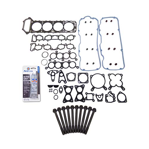 Head Gasket Set Head Bolt Kit Fits: 89-95 Nissan 240SX PickUp 2.4L SOHC KA24E