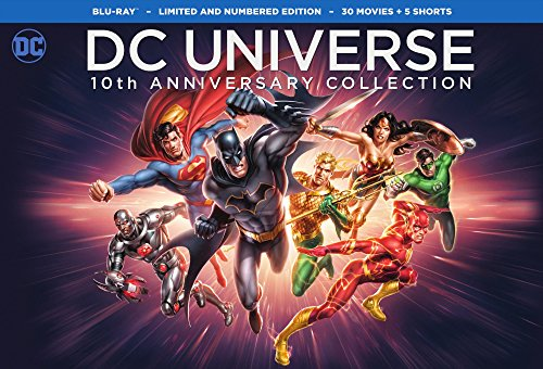 Dc Universe 10Th Anniversary Collection  30 Movies  Blu Ray