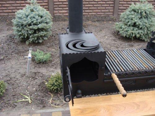 Kochfeld Für Außenküche : Außenküche professionelle grillstation holzkohlegrill grill