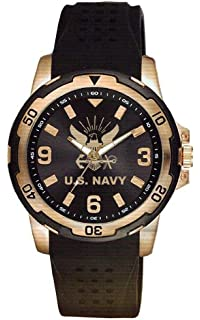 Aqua Force Navy Rose Gold Watch with 40mm Face