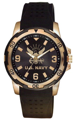U.S. Navy Rose Gold Watch