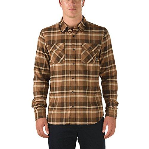 Vans Men's Banfield II Flannel Shirt (Medium, Demitasse)