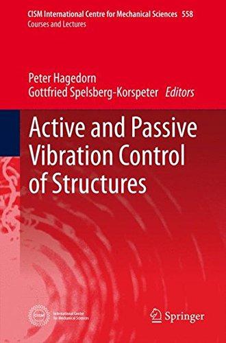 Active and Passive Vibration Control of Structures (CISM International Centre for Mechanical Sciences)
