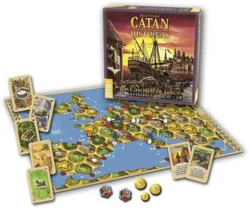 Devir - Catan, Los colonos de Europa, Juego de Mesa (BGCATEU): Amazon.es: Juguetes y juegos