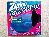 Ziploc TableTops 4 Bowls with Snap u0027n Seal Lids  sc 1 st  Amazon.com & Amazon.com: Ziploc Table Tops 4 Sandwhich Plates with Snap u0027N Seal ...