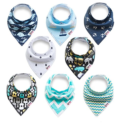 Baby Bandana Drool Bibs for Drooling and Teething, for sale  Delivered anywhere in Canada