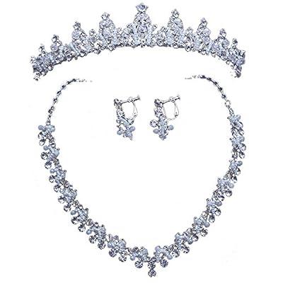 MDRW-Accessoires De Cheveux De Mariée En Épingle À Cheveux/Mariage/fête/femme korean diadème coiffure l'esthétisme collier de noces ornements pour des bijoux des boucles d'oreilles