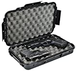 Waterproof Handgun Case Pistol Gun Case with Convoluted Foam the Elephant Elite EL012 Recommended for guns 12