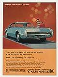 1967 Oldsmobile Olds Toronado Honors Encore Original Print Ad
