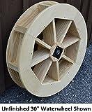 Backyard Crafts Amish-Made Decorative Waterwheel - 30