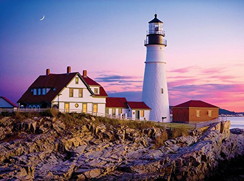 1000 Piece Ceaco Jigsaw Puzzle Bon Voyage Travel Photos - United (Carolina Photo)