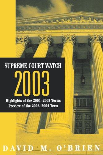 Supreme Court Watch 2003