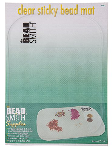 Bead Mat Sticky Clear 7 5x5 5in